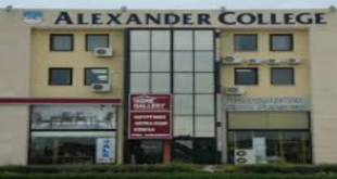 Alexander College Academic 2020