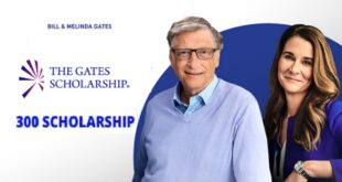Bill Gate Scholarships (The Gates Scholarship) 2020/21 – Fully Funded
