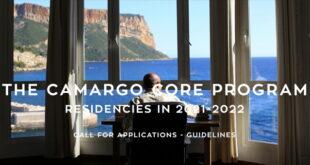 Camargo Core Residency Program for International Candidates