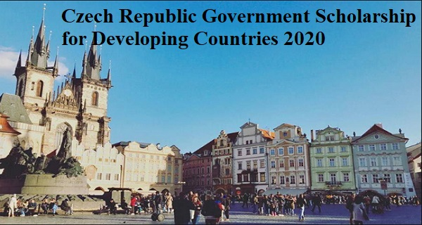 Czech Republic Government Scholarship for Developing Countries 2021