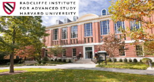 Radcliffe Institute for Advanced Study Fellowships at Harvard University