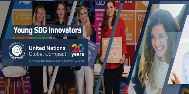 United Nation's Global Compact Young SDG Innovators Programme 2020