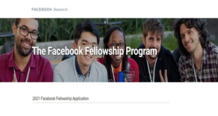 Facebook Fellowship Program for International Students