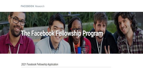 Facebook Fellowship Program for International Students