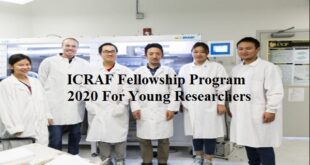 Fellowship Program 2020 For Young Researchers