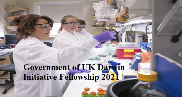 Government of UK Darwin Initiative Fellowship 2021