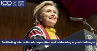 Hillary Clinton Global Challenge Scholarship at Swansea University