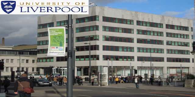 MBA Excellence Scholarship at University of Liverpool 2020