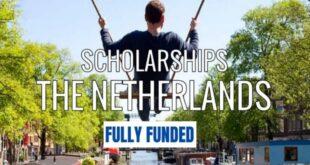 Top 20+ Fully Funded Scholarships in Netherlands for International Students