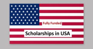 Fully Funded Scholarships in USA for International students