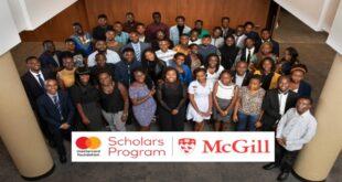 2020/21 Mastercard Foundation Scholars Program at McGill, Canada (Fully-Funded)