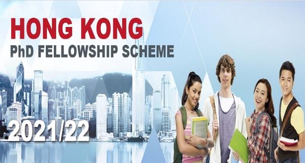 300 PhD Fellowships to Study in Hong Kong – The Hong Kong PhD Fellowships Scheme, 2021/22