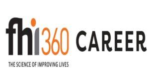 Fresh Job Vacancies at FHI 360 – September (10 Positions)