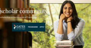 Gates Cambridge Scholarship Programme 2021 for Postgraduate Studies (Fully-Funded)