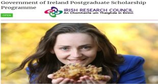 Government of Ireland Postgraduate Scholarship Programme 2021 [Funded]