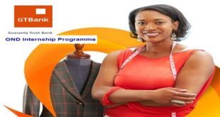 Guaranty Trust Bank OND Internship Programme