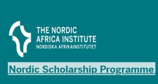 Nordic Africa Institute Scholarship Programme for Postgraduate