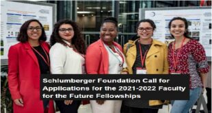 Schlumberger Foundation Faculty for the Future Fellowships