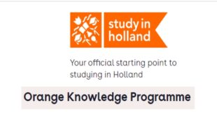 Study in Holland Orange Knowledge Programme 2021