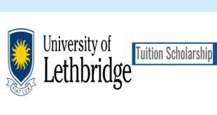 Tuition Scholarships for International Students at University of Lethbridge, Canada