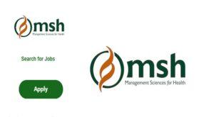 Fresh Job Vacancies at Management Sciences for Health (MSH) – 4 Positions