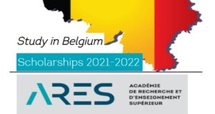 Belgium Government Masters and Training Programmes (ARES) Scholarships 2021 - 2022