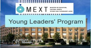 Japanese Government MEXT Scholarship YLP 2021 | Japanese Government MEXT Scholarship (Young Leaders' Program) 2021