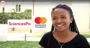 2021/2022 Sciences Po Mastercard Foundation Scholarships to Study in France