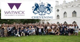 University of Warwick Chevening Scholarships
