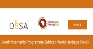Apply Now: 2020 African World Heritage Fund Youth Internship Programme