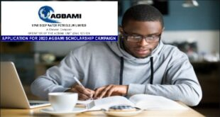 Chevron-Agbami Scholarship for Nigerian Undergraduates
