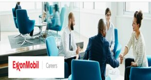 Exxon Mobil Graduate Internship Program 2020 (Law/Business/Social Sciences/Humanities)
