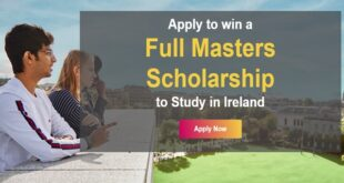 Go Overseas Full Masters Scholarship to Study in Ireland, 2021