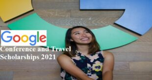 Google Conference and Travel Scholarships 2021