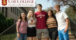 International Scholarships at COE College USA