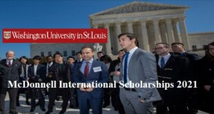 McDonnell International Scholarship at Washington University in St. Louis