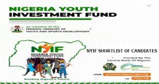 Nigerian Youth Investment Fund (NYIF) Shortlist, Training Start Dates, Centres