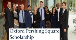 Oxford Pershing Square Scholarship for Postgraduates