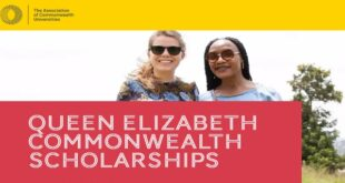 Queen Elizabeth Commonwealth Scholarships 2021 for Low and Middle Income Commonwealth Countries