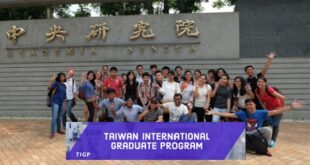 Taiwan International Graduate Program Scholarship 2021