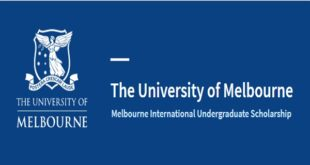 University of Melbourne International Undergraduate Scholarship 2021 (up to $56,000)