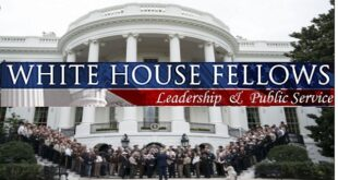 White House Fellowship for Professionals 2021