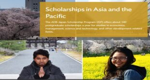 Asian Development Bank Scholarships 2021/2022 in Asia and the Pacific