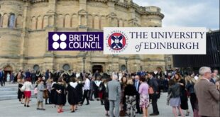 British Council Fellowship at the University of Edinburgh for Africans