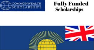 Commonwealth Doctoral Scholarships Award 2021 for Students of Developing Countries to Study UK