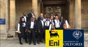 Eni Scholarships 2021 for Africans at Oxford University