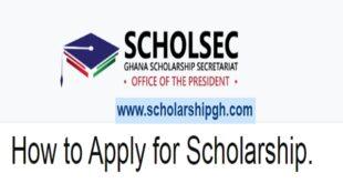 Ghana Scholarship Secretariat Local and Foreign Scholarships, 2021/2022