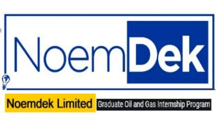 NoemDek Graduate Oil and Gas Internship Program 2021 for Fresh Graduates