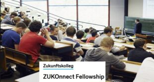 ZUKOnnect Fellowships for Scholars from Asia