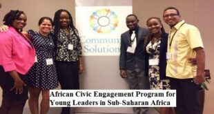 African Civic Engagement Program 2021 for Young Leaders in Sub-Saharan Africa